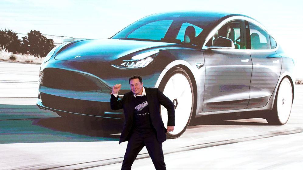 Foto: El CEO de Tesla, Elon Musk, en un acto de la compañía en China. (Reuters)