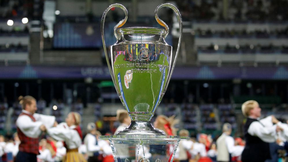 Foto: Trofeo de la Champions. (Reuters)