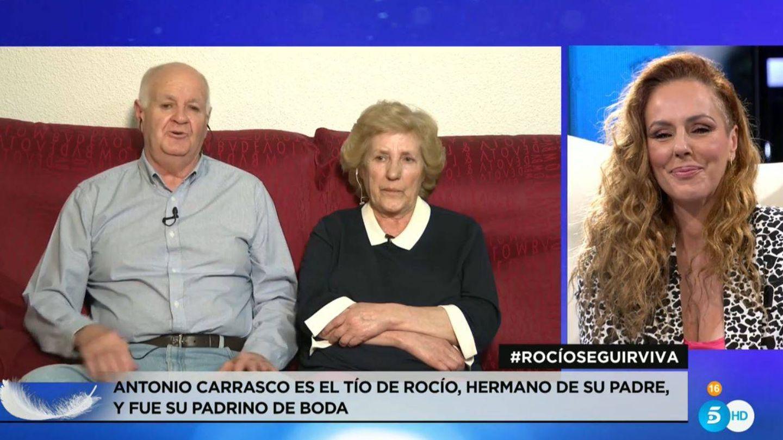 Los tíos de Rocío Carrasco. (Mediaset)