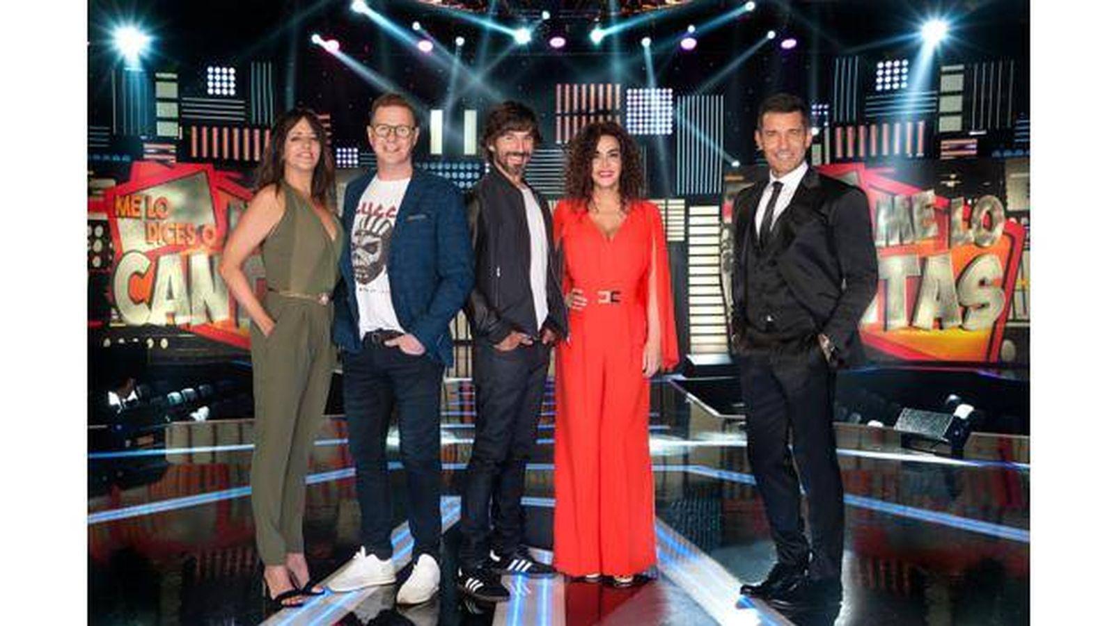 Foto: Telecinco estrena 'Me lo dices o me lo cantas'.