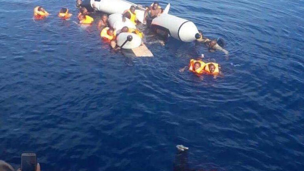 El último naufragio en el Estrecho: 30 sin papeles se ahogan a las puertas de Melilla