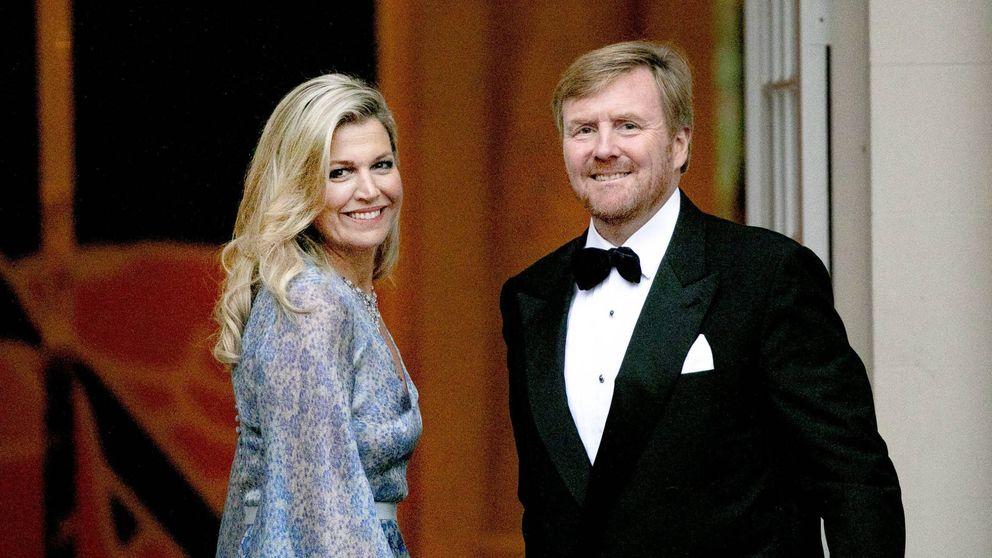 Máxima de Holanda en una cena de gala: suspenso de día, sobresaliente de noche