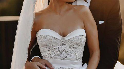Sylvie (ex de Van der Vaart) y el vestido para casarte de largo y blanco más allá de los 40