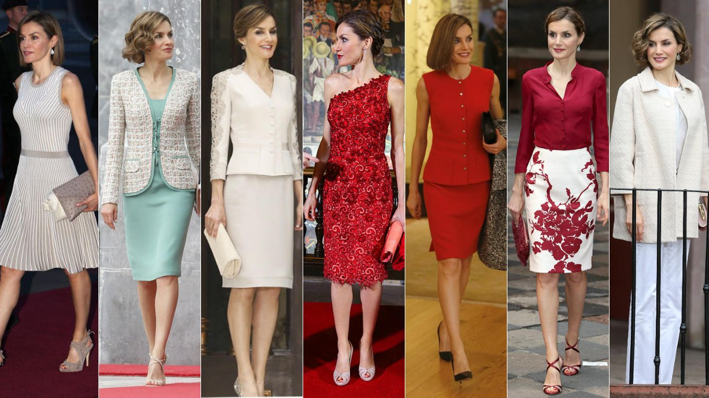 Foto: Los siete atuendos de la Reina