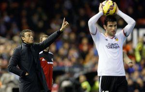 Luis Enrique tira de boxeo para justificar la victoria del Barcelona