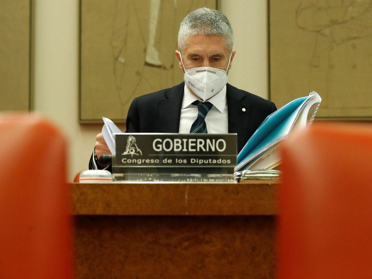 Foto: El ministro del Interior Fernando Grande-Marlaska. (EFE)