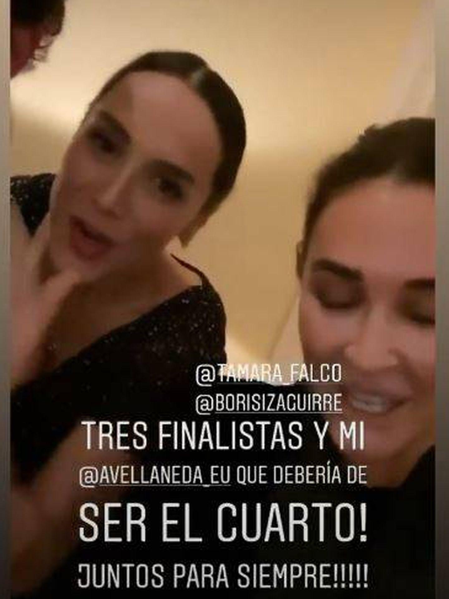 Tamara en Instagram.