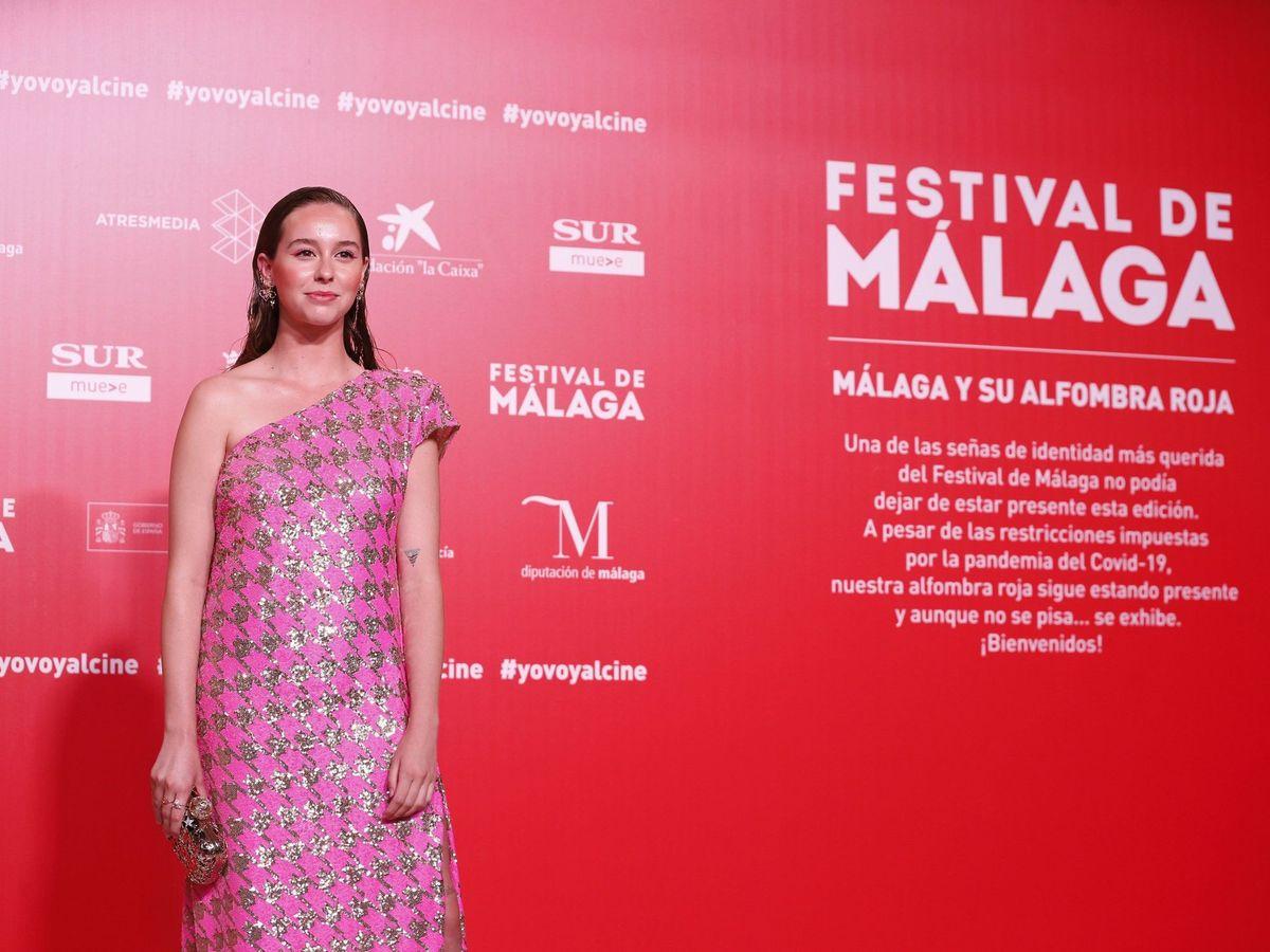 Foto: La actriz, en el pasado Festival de Málaga. (EFE)
