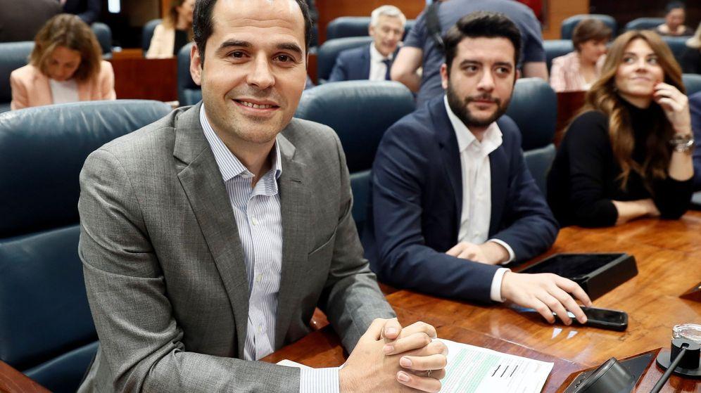 Foto: Ignacio Aguado, portavoz parlamentario de Ciudadanos Madrid. (EFE)