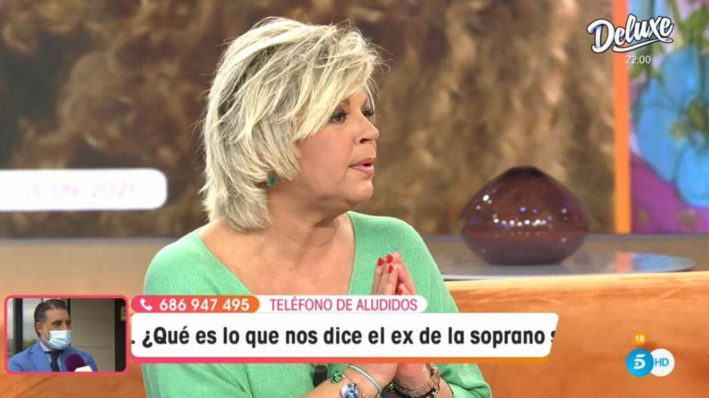 Terelu Campos, en 'Viva la vida'. (Mediaset España)