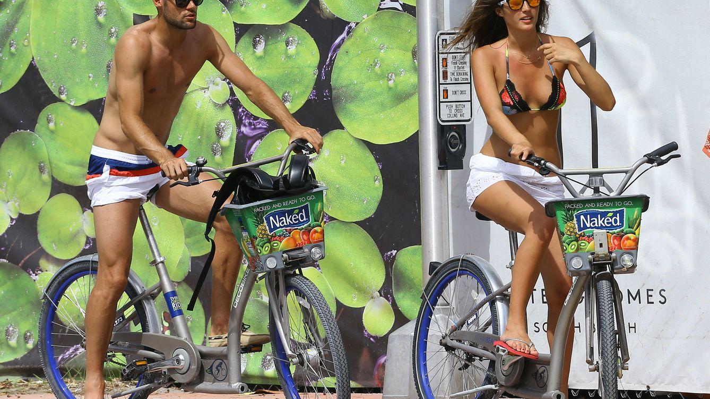Foto: La novia del futbolista del Atlético de Madrid Mario Suárez es una gran aficionada al deporte