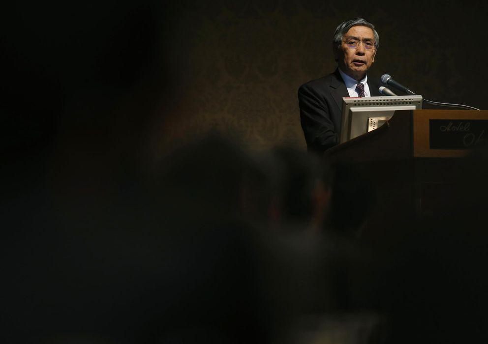 Foto: El gobernador del Banco de Japón, Haruhiko Kuroda