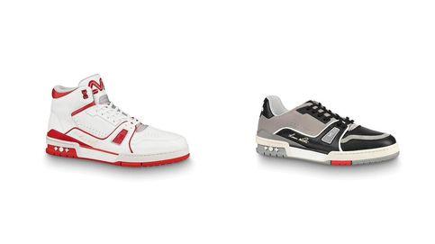 Primeras zapatillas de Virgil Abloh para Louis Vuitton