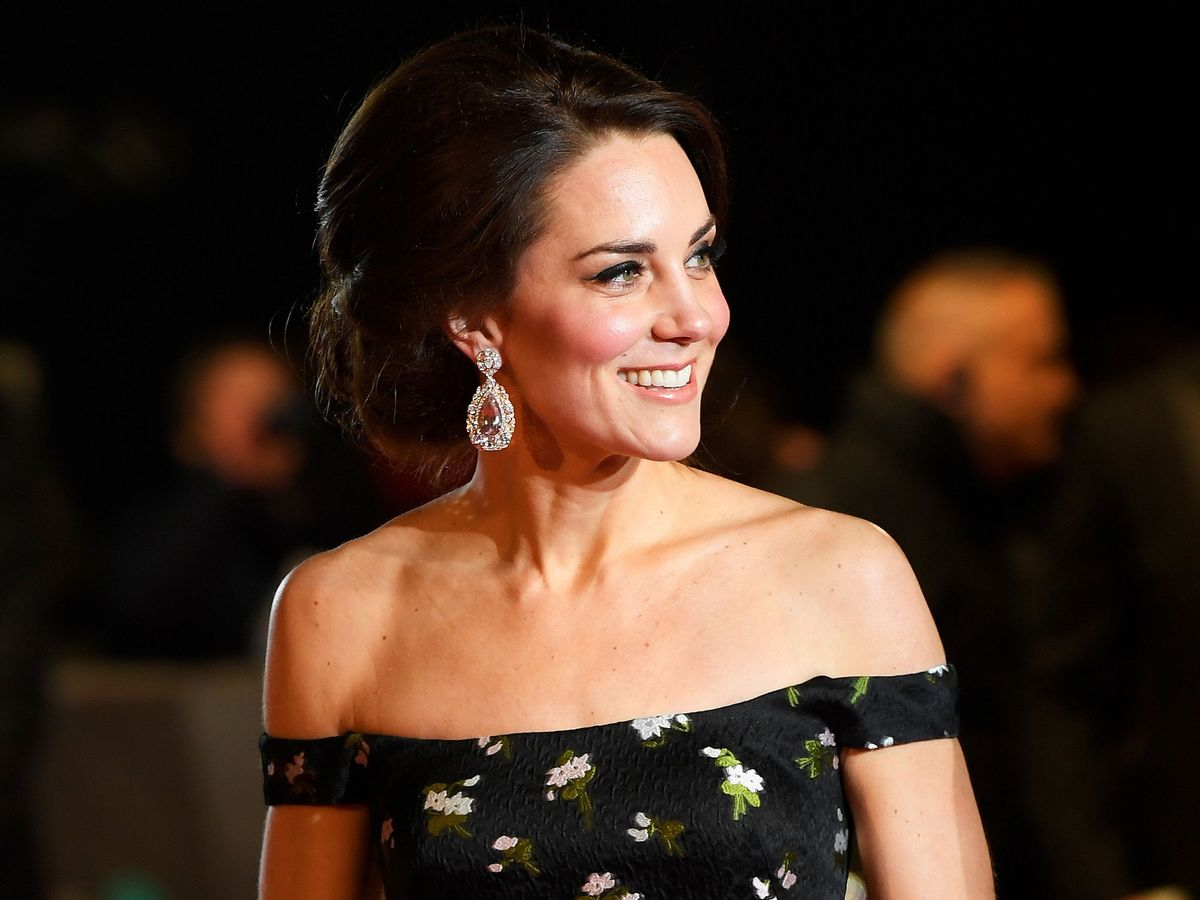 Foto: Kate Middleton, en los Premios Bafta de 2017. (Reuters)