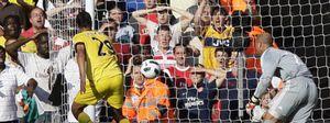 Un fallo de Reina en el 94' da el empate al Arsenal