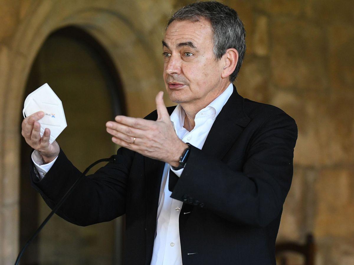 Foto: El expresidente José Luis Rodríguez Zapatero. (EFE)