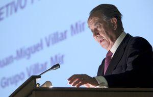 Villar Mir se cubre hasta marzo de 2015 ante los vaivenes de OHL