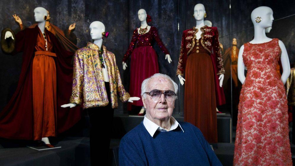 Foto: Givenchy ha fallecido a los 91 años.