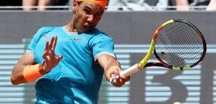 Post de Master de Roma en directo: Rafa Nadal, contra Basilashvili por una plaza en cuartos