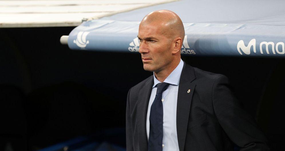 Foto: Zidane, preocupado tras el mal comienzo de Liga del Real Madrid. (Reuters)