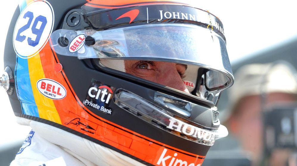 Foto: Fernando Alonso en el trazado de Indianápolis. (Reuters)