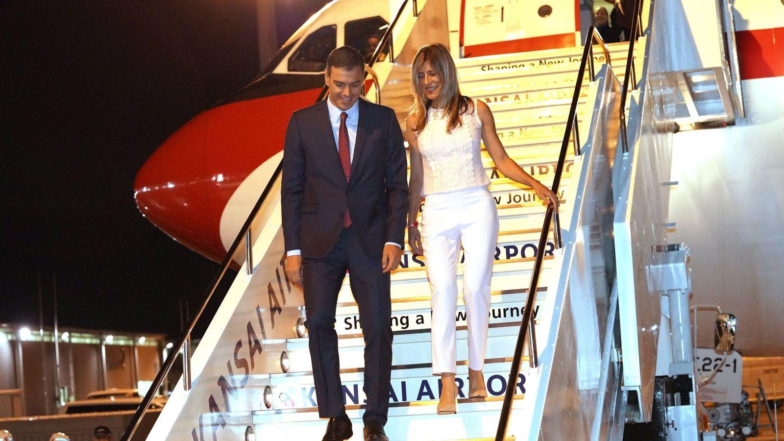 Foto: Pedro Sánchez y Begoña Gómez, en una imagen de archivo. (EFE)