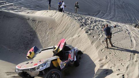 Las imágenes de la etapa más dura del implacable Dakar