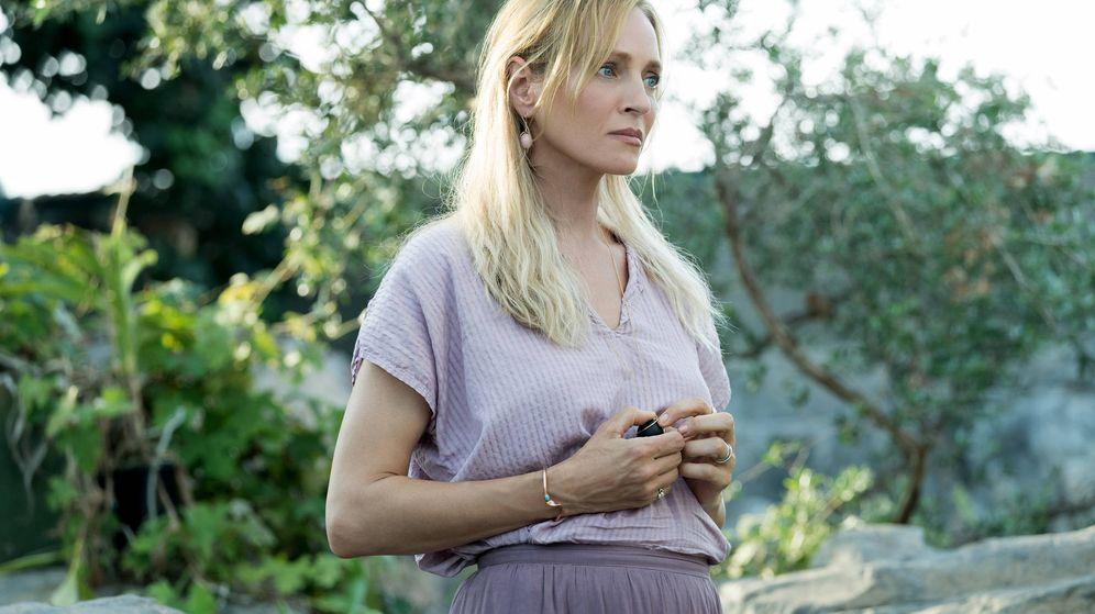 Foto: La actriz Uma Thurman en la serie 'Chambers'. (Ursula Coyote/Netflix)