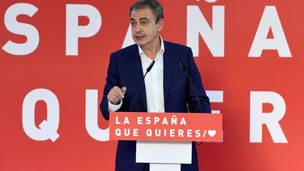 Foto: José Luis Rodríguez Zapatero en un acto del PSOE en León. (EFE)
