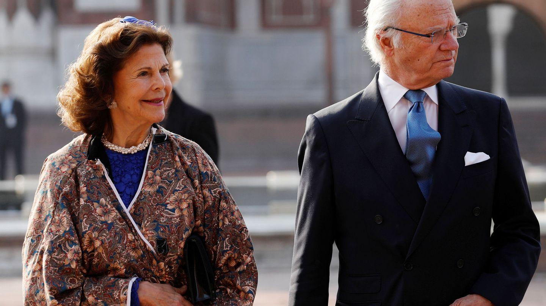 Carlos Gustavo y Silvia de Suecia. (Reuters)