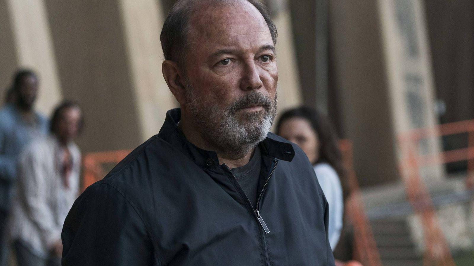 Foto: Rubén Blades es Daniel Salazar en 'Fear The Walking Dead'. (AMC España)