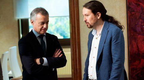Iglesias cierra con Urkullu la ronda de PGE: Hay que cuidar la mayoría que echó al PP