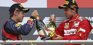Post de ¿Hubiera ganado Alonso a Hamilton con el Ferrari de Vettel?