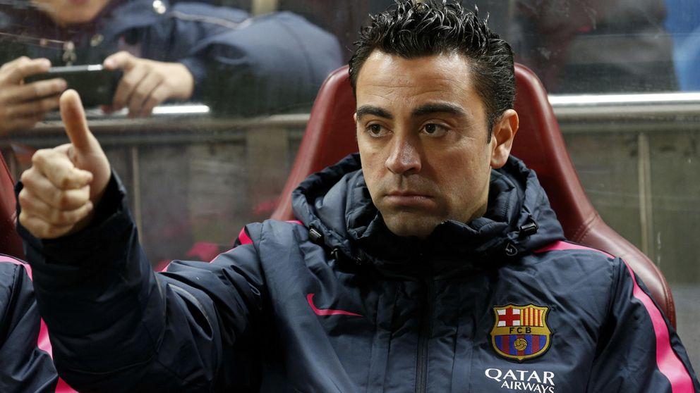Xavi pinta menos que nunca desde que está en el Barça