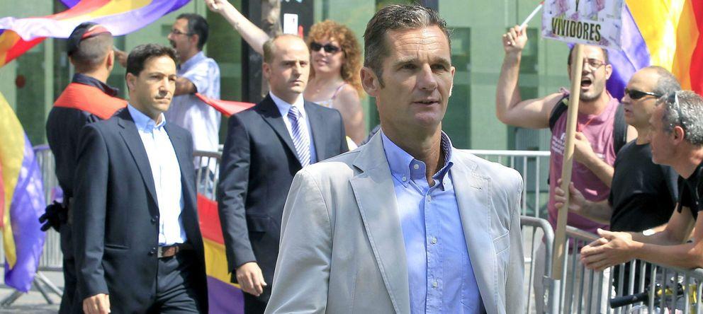 Foto: Iñaki Urdangarin sale de la Ciudad de la Justicia de Barcelona. (EFE)