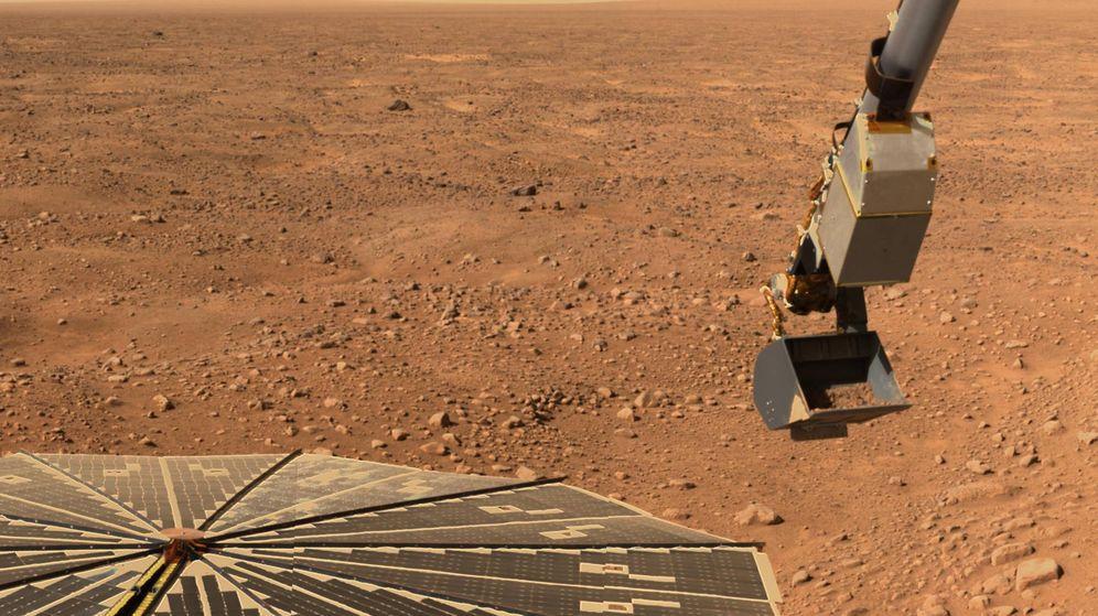 Foto: Imagen de la superficie de Marte enviada por la Phoenix Mars Lander de la NASA. (Reuters)
