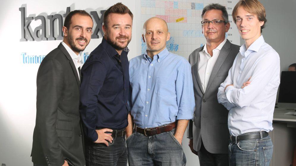 Foto: El equipo directivo de Kantox