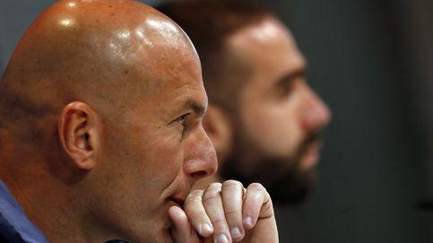 A Zidane se le atraganta el lateral derecho del Real Madrid