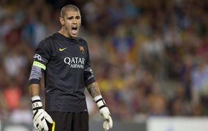 Valdés se irá del Barça sabiendo que ha dejado el listón muy alto