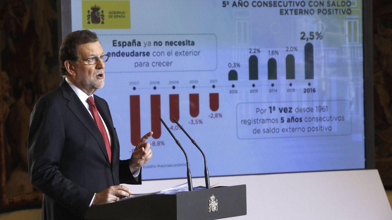 Foto: Rueda de prensa del Presidente del Gobierno, Mariano Rajoy