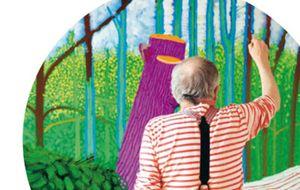 Un viaje al mundo de David Hockney