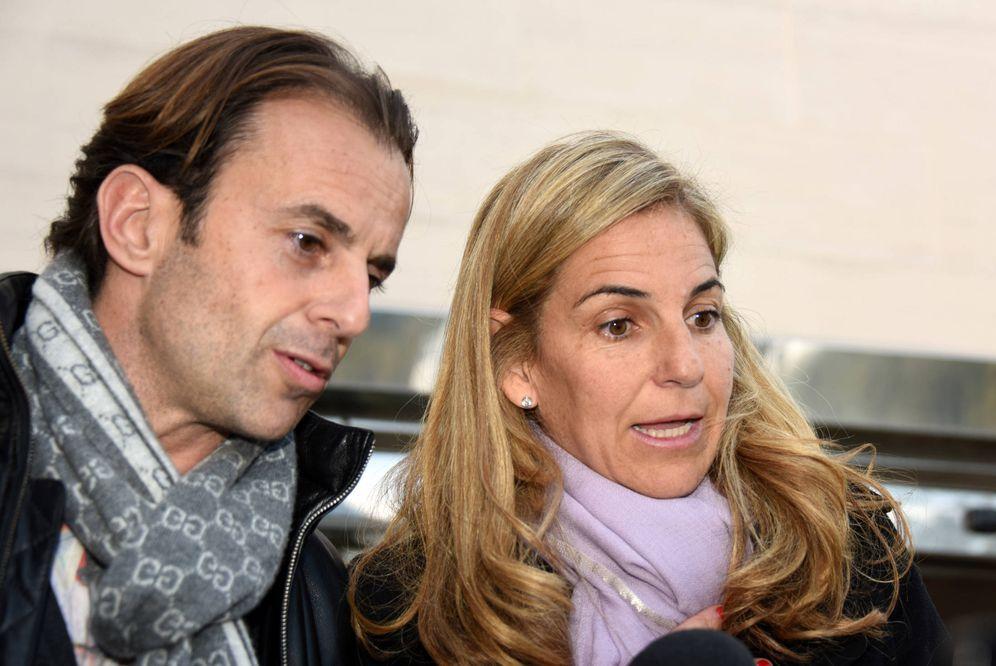 Foto: Arantxa Sánchez Vicario y Josep Santacana en una imagen de archivo. (Gtres)