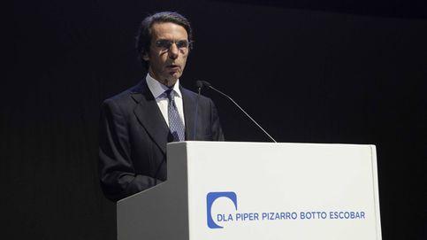 Aznar hace de oro a DLA Piper como embajador en Latinoamérica