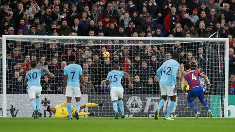 El Crystal Palace acaba con la racha de victorias del City de Guardiola