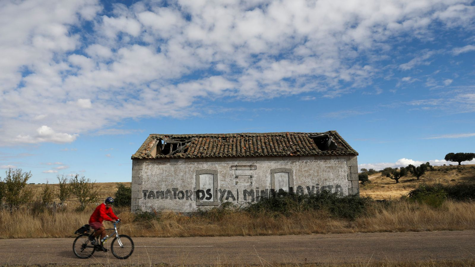 Foto: Retortillo, Salamanca, lugar donde Berkeley pretende constituir su mina de uranio. (Reuters)