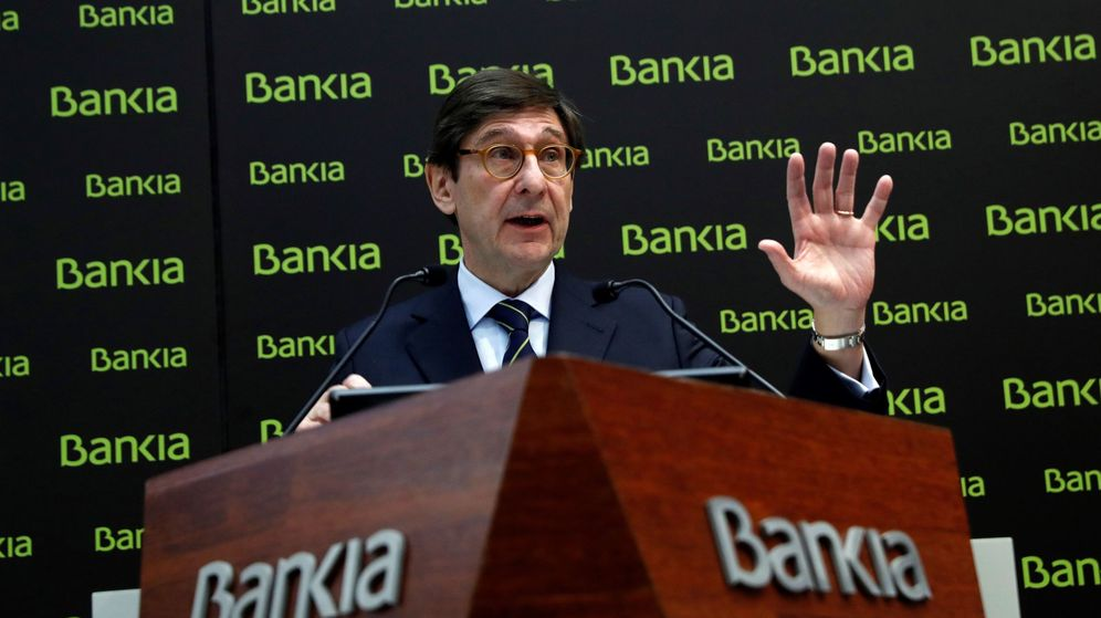 Foto: José Ignacio Goirigolzarri, presidente de Bankia (Efe).