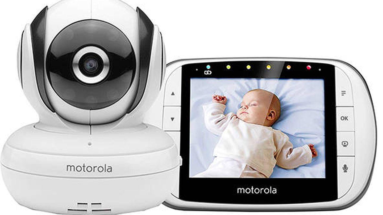 Vigilabebés con pantalla LCD Motorola MBP36S