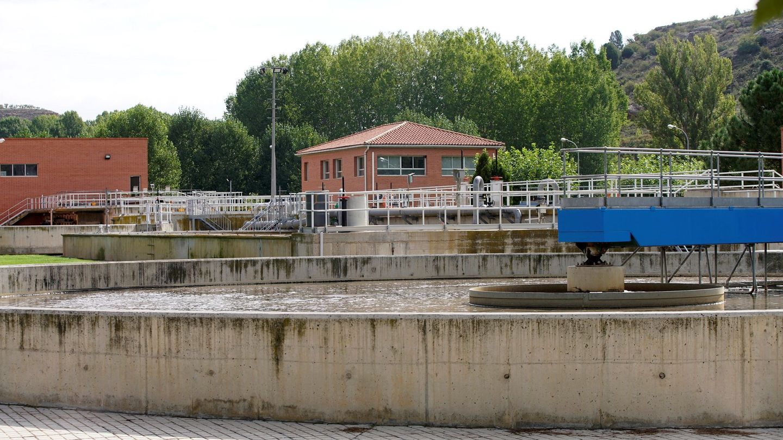 Depuradora en Teruel. (EFE)