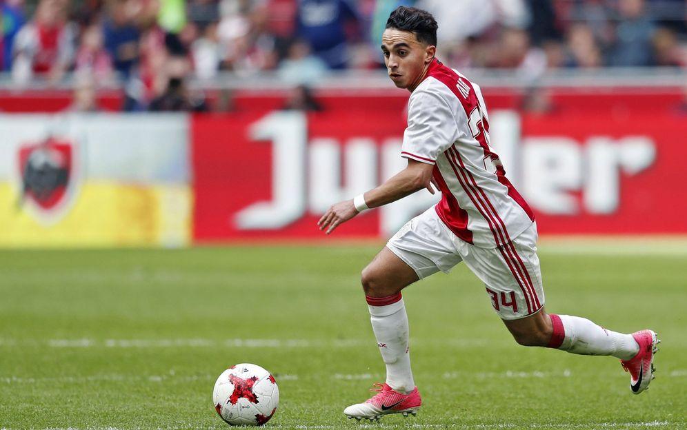 Foto: Imagen de Abdelhak Nouri, durante un partido con el Ajax. (EFE)