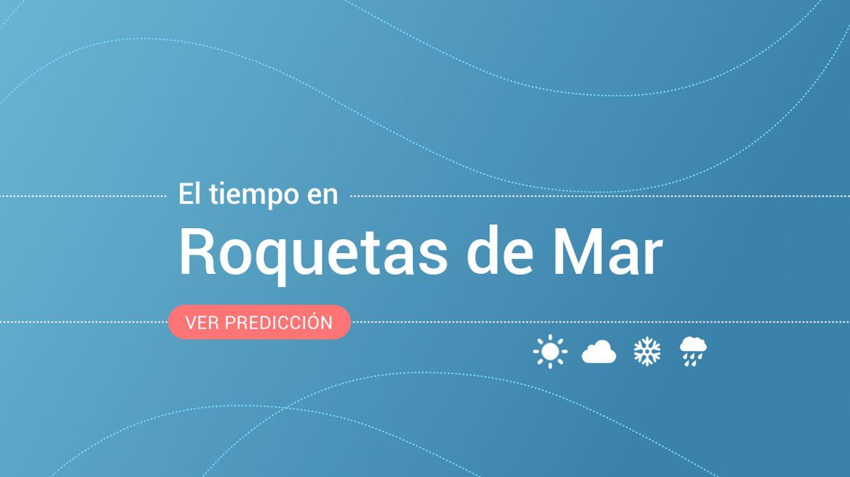 Previsión meteorológica en Roquetas de Mar: alertas por fenómenos costeros y vientos